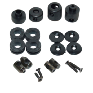 KNOB SET FOR WINDSHIELD - Knob kit för vindruta